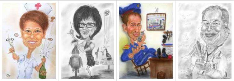 Geschenkideen - Beruf oder Berufung - Karikatur zum Thema Arbeit