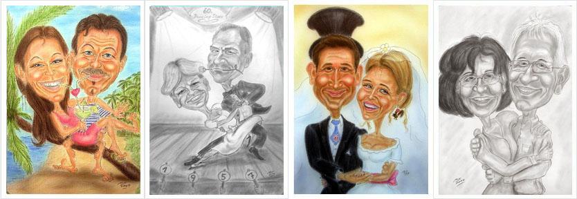 Paare - mit und ohne Verlobungsring