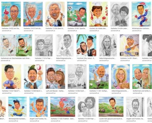 Geschenkideen - gesammelter Überblick einiger Karikaturen
